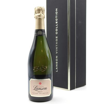 Coffret Lanson Brut 1989 Champagne 75cl