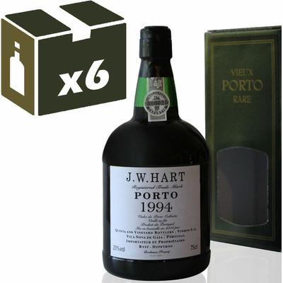 x6 Porto  J.W. Hart 1994 - 75cl