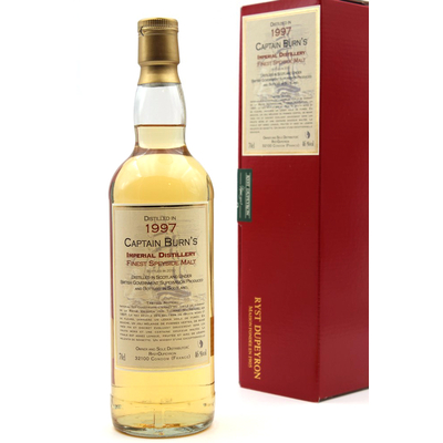 Whisky Captain Burn's Impérial Speyside - 1997 - 70cl