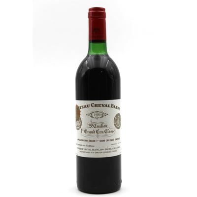 Château Cheval Blanc 1980 Rouge 75cl AOC Saint-Émilion