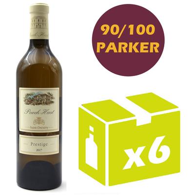 X6 Château Puech Haut 2017 - Prestige - Blanc - Côteaux du Languedoc
