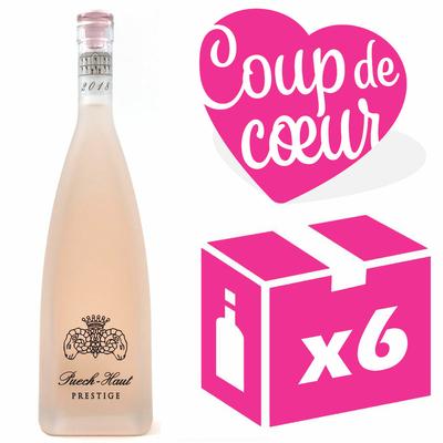 X6 Château Puech-Haut Prestige 2018 - Rosé - Côteaux du Languedoc