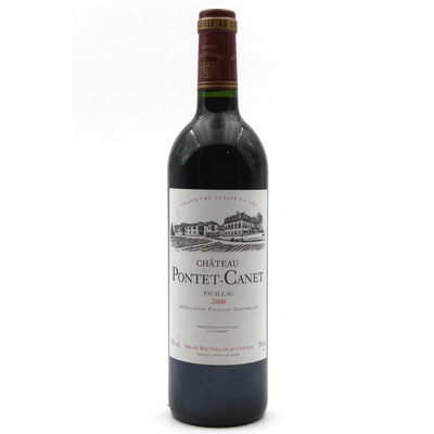 Château Pontet Canet 2000 Rouge 75cl AOC Pauillac