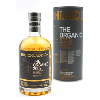 Whisky Bruichladdich The Organic 2009 - 70cl - 50°