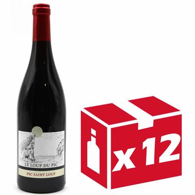 X12 Château Puech-Haut - Le Loup du Pic 2017 - Vin Rouge - Côteaux du Languedoc