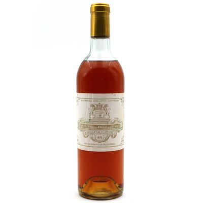 Château Filhot 1970 Blanc 75cl AOC Sauternes