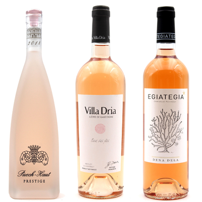Coffret 3 Vins Rosés découverte Dena Dela 75cl