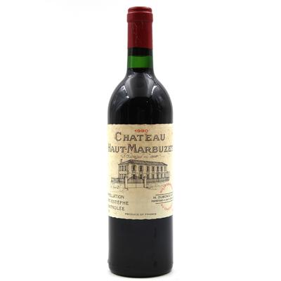 Château Haut Marbuzet 1990 Vin Rouge 75cl AOC Saint-Estephe