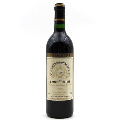 Château Chambert-Marbuzet 1996 Vin Rouge 75cl AOC Saint-Estephe