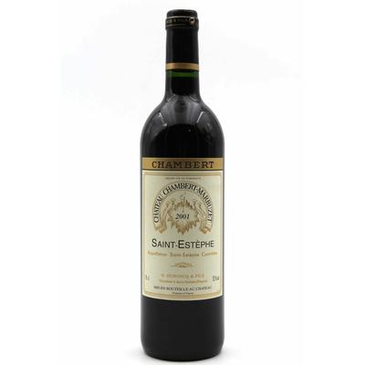 Château Chambert-Marbuzet 2001 Vin Rouge 75cl AOC Saint-Estephe