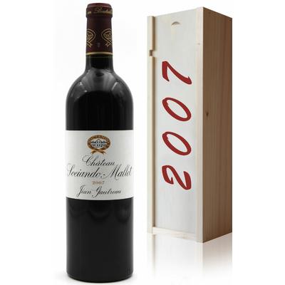 Coffret Château Sociando Mallet 2007 Vin Rouge 75cl AOC Médoc