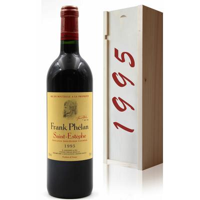 Coffret Château Frank Phelan 1995 Vin Rouge 75cl AOC Saint Estephe