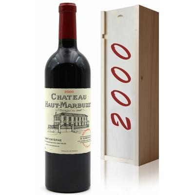 Coffret Château Haut Marbuzet 2000 Vin Rouge 75cl AOC Saint-Estephe