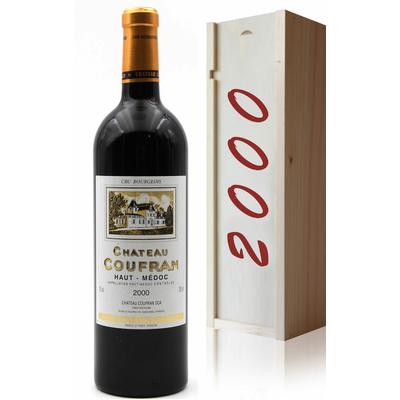 Coffret Château Coufran 2000 Rouge 75CL Haut-Médoc
