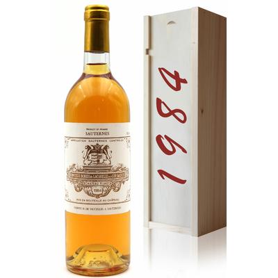 Coffret Château Filhot GCC 1984 Blanc 75cl AOC Sauternes
