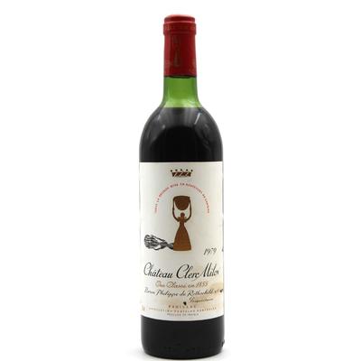 Château Clerc Milon 1979 Rouge 75cl AOC Pauillac