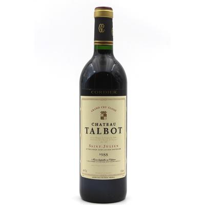 Château Talbot 1988 Rouge 75cl AOC Saint - Julien