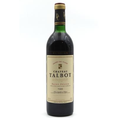Château Talbot 1989 Rouge 75cl AOC Saint - Julien