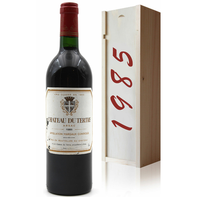 Coffret Château Du Tertre 1985 Rouge 75cl AOC Margaux