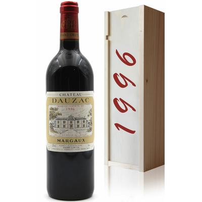 Coffret Château Dauzac 1996 Vin Rouge 75cl AOC Haut Médoc