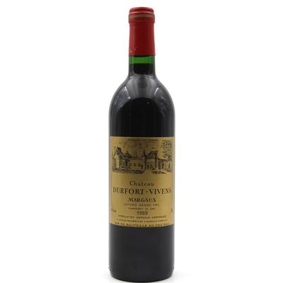 Château Durfort-Vivens 1989 Vin Rouge 75cl AOC Margaux