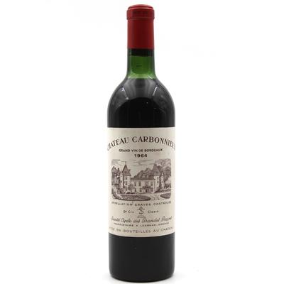 Château Carbonnieux 1964 Vin Rouge 75cl AOC Péssac-Léognan
