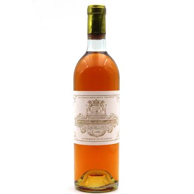Château Filhot 1970 - vin Blanc - 75cl - AOC Sauternes