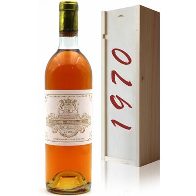 Coffret Château Filhot 1970 - vin Blanc - 75cl - AOC Sauternes