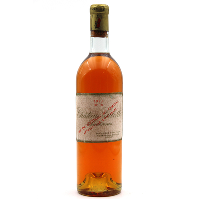 Château Gilette 1953 - vin Blanc - 75cl - AOC Sauternes