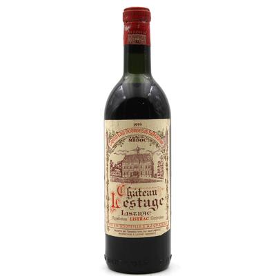 Château Lestage 1959 Rouge 75cl AOC Listrac-Médoc - Cru Bourgeois