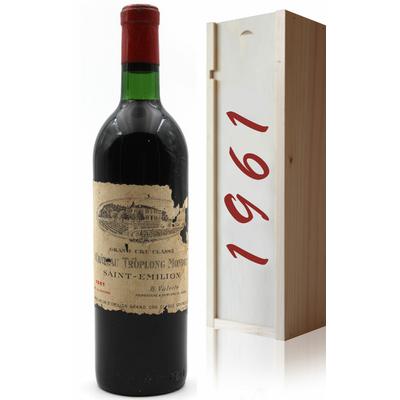 Coffret Château Troplong Mondot 1961 - Vin Rouge - 75cl - Aoc - Saint-Émilion