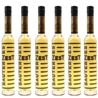 Lot de 6 bouteilles Sauternes Zest 2017 - Château Filhot - Vin Blanc - 37,5 cl - AOC Sauternes