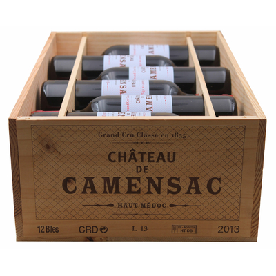 Caisse de 12 Bouteilles Château Camensac 2013 Rouge 75cl AOC Haut-Médoc