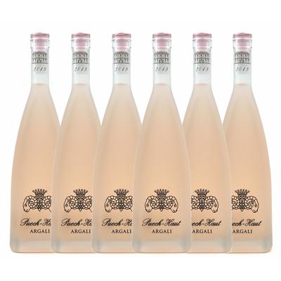 Château Puech-Haut - Prestige Argali 2019 - Vin Rosé - Pays d'Oc - Carton de 6 Bouteilles