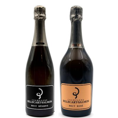Champagne Billecart-Salmon - Brut Réserve & Brut Rosé - 75cl