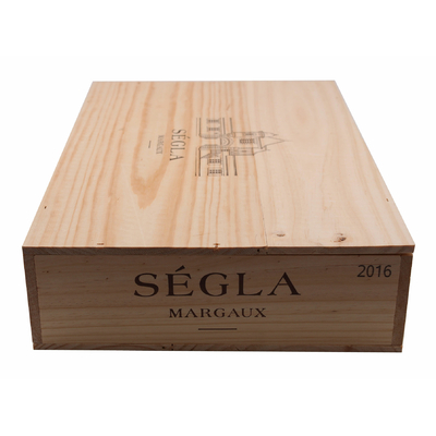 Caisse de 6 bouteilles Ségla 2016 Rouge 75cl AOC Margaux
