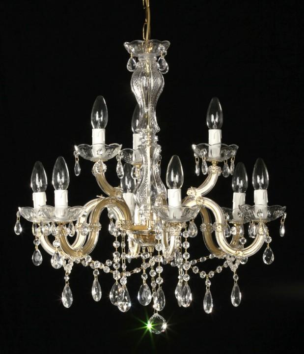 lustre baroque style marie th r se en verre italien gallipoli. Black Bedroom Furniture Sets. Home Design Ideas