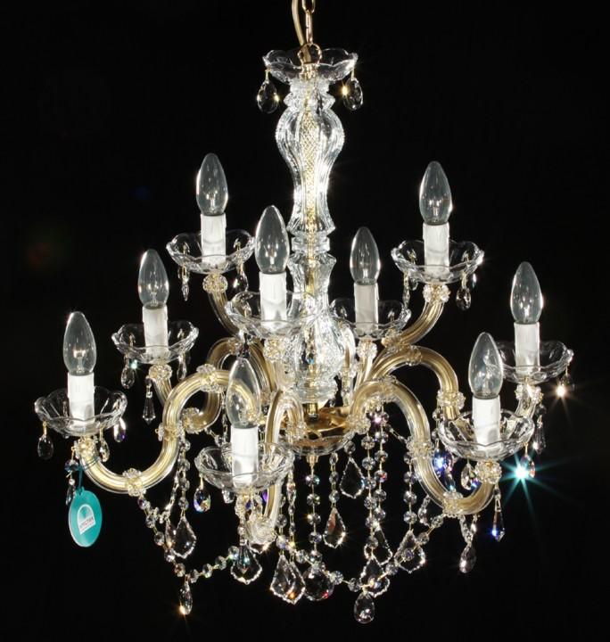 lustre v nitien en cristal spectra swarovski 9 feux orsini. Black Bedroom Furniture Sets. Home Design Ideas