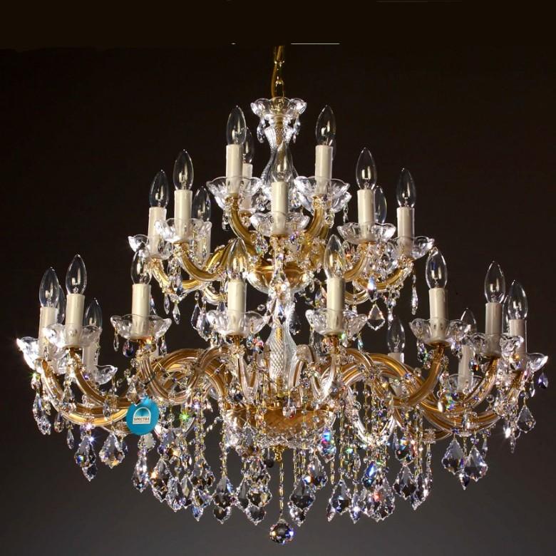 lustre cristal swarovski lustre montgolfiere chr dor cristal swarovski en 40 ebay lustre. Black Bedroom Furniture Sets. Home Design Ideas