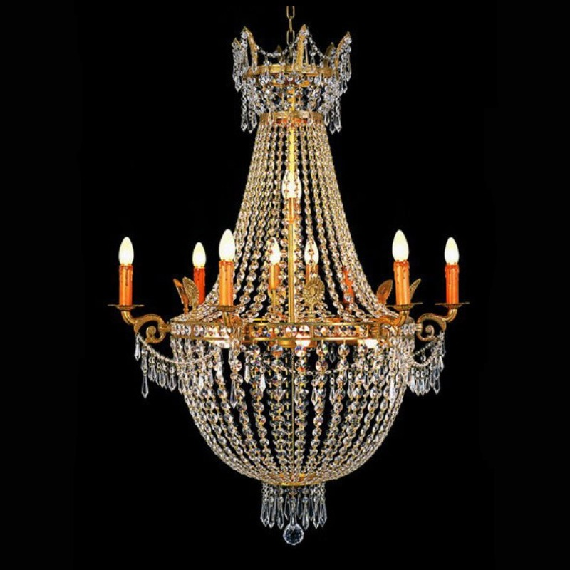 lustre en cristal montgolfi re 96 cm villandry. Black Bedroom Furniture Sets. Home Design Ideas