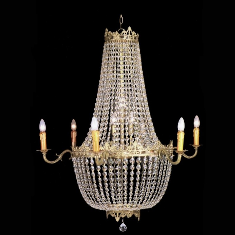 lustre-corbeille-empire