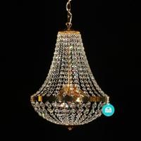 Lustre montgolfière en cristal Spectra Swarovski ® Ø40 cm Lucera
