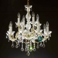 Lustre style Marie-Thérèse en cristal Spectra Swarovski ® 12 feux Calascio