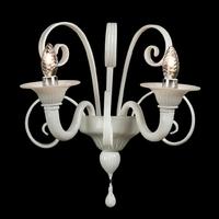 Applique baroque en verre de Murano personnalisable Pacentro