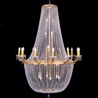 Lustre de casino style montgolfière en cristal Ø130 cm Chantilly