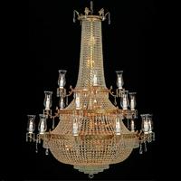 Lustre en cristal style montgolfière Ø130 cm Versailles