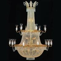 Lustre en cristal style montgolfière Ø138 cm Chenonceau