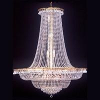Lustre en cristal style montgolfière Ø120 cm Arcelot