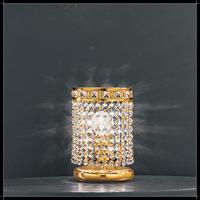 Lampe de bureau / chevet en cristal au plomb 24% Voltolina Amsterdam