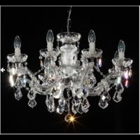 Lustre baroque en cristal Spectra Swarovski ® 8 feux Carsoli